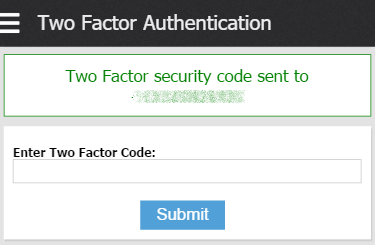 Two-Factor Security